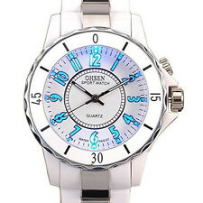 Elegant OHSEN Womens Ladies Quartz Sports Wrist Watch 7 Colour LED Light Watch