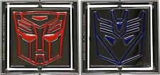 10 PCS TRANSFORMERS DECEPTICON AND AUTOBOT OPTIMUS BELT BUCKLE