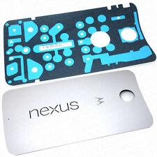 Genuine Motorola Nexus 6 Replacement Battery Cover Rear Housing & Adhesive White