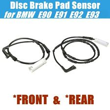 Front Rear Brake Pad Sensor for BMW E90 E91 E92 E93 116i 120i 323i 325i 3-Series
