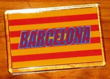 Barcelona Catalan football Catalonia flag fridge magnet