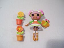 LALALOOPSY EXCLUSIVE BLOSSOM FLOWERPOT MINI DOLL PET SEW SWEET PLAYHOUSE