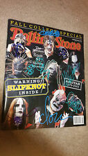 SLIPKNOT ROLLING STONE MAGAZINE MAG BAND SIGNED AUTOGRAPH ALL 9! Paul Gray!