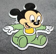 NICE DISNEY BABY MICKEY MOUSE PLASTIC MAGNET