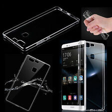 Ultra-Thin Clear Soft Silicone TPU Gel Transparent Case For Huawei Ascend P9*