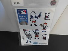 Detroit Tigers package of Family Decals. 6 assorted Decals