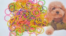 colourful silicone dog, puppy Furbaby Hair bands Bows - 20 Grooming  free post