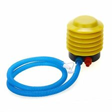 Foot Air Pump Inflator for Balloon Inflatable Toy Portable HP
