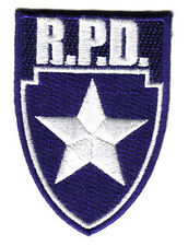 Resident Evil Police Department Shield - Logo Patch- Uniform Aufnäher