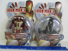 Marvel IRON MAN & WAR MACHINE Motorized Battle Charger REV RACE & CHANGE! Age 4+