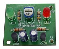 FK109: LED Flasher for Student Project Un-assembled Electronic Circuit Board Kit