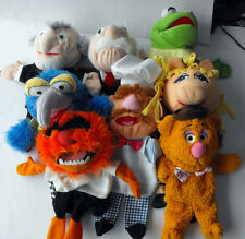RARE Disney MUPPETS 8 Hand Puppets cool plush set near MINT The Netherlands L@@K