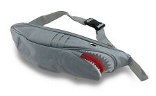 Mean Toothy Shark Nylon Canvas Fanny Pack