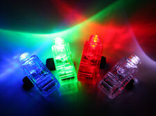 48 PCS *WHOLESALE* FINGER LIGHT UP RING LASER LED RAVE PARTY FAVORS GLOW BEAMS