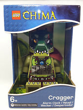 CRAGGER ALARM CLOCK legends of chima lego MISB legos NEW minifigure minifig
