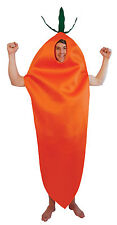 Adult Carrot Funny Stag Hen Unisex Party Costume Fancy Dress Food Outfit