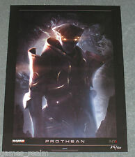 Mass Effect 3 Prothean Limited Collectors Lithograph Rare - Foil N7 New