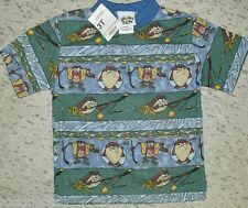 Taz Hockey Kids Youth Looney Tunes T-Shirt sz. 3T NEW w. TAGS!! (2 SIDED PRINTS)