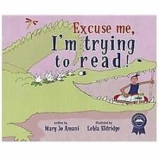 Mary Jo Amani - Excuse Me Im Trying To Read (2012) - Used - Trade Cloth (Ha