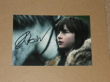 ISAAC HEMPSTEAD WRIGHT Signed 4x6 GAME OF THRONES Photo AUTOGRAPH 1E