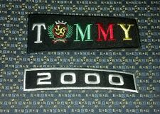 BLACK TOMMY & 2000 Iron or Sew-On Patch
