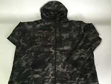 NIKE MENS TECH FLEECE HOODIE  JACKET CAMO BLACK (XX-LARGE) BNWT 678950-233