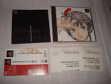 Serial Experiments Lain Japanese Japan Import PlayStation US SELLER