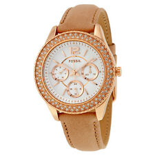 Fossil Stella Multi-Function Silver Dial Ladies Watch ES3816