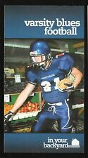 2005 Toronto Varsity Blues Football Schedule