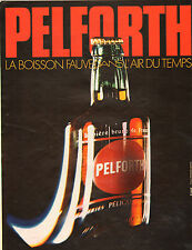 Publicité Advertising 1972  Bière PELFORTH