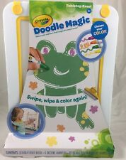 New Crayola Doodle Magic Tabletop Double Sided Easel with 4 Coloured Markers