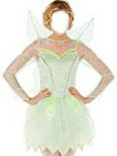 NWT! DISNEY STORE Peter Pan Fairy TINKERBELL Fancy Dress Women COSTUME ADULT L