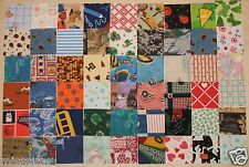 CLOSEOUT NEW 125 3 INCH I SPY QUILT SQUARES COTTON 100 DIFFERENT