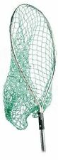 SHURHOLD Long Stainless Steel Fishing Net with Clip-on Mounting 43x51x76cm