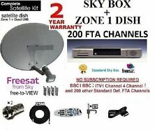 Sky Freesat Panasonic RICEVITORE SATELLITARE DIGI BOX compresi Dish LNB Full Kit