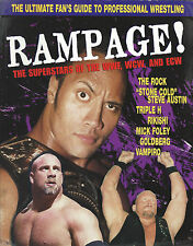 Rampage Magazine WWF WWE WCW The Rock Dwayne Johnson Bill Goldberg Steve Austin