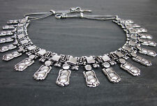 Necklace Choker India Tribal Vintage Silver Boho Punk Gypsy Jewelry Gift for her