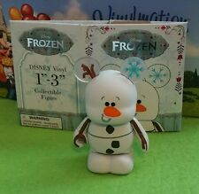 "DISNEY Vinylmation 3"" Park Set 1 Frozen Olaf Snowman with Box"
