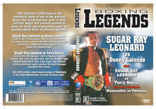 LEGENDS OF BOXING SUGAR RAY LEONARD V DONNY LALONDE & TERRY NORRIS DVD Brand New