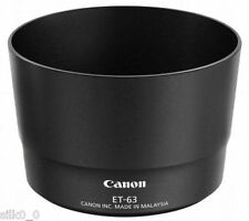 OFFICIAL NEW Canon Lens hood ET-63 for EF-S55-250mm F4-5.6 Airmail with Tracking