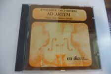 ENSEMBLE ORCHESTRAL AD ARTEM VIOLON SOLO THERESE DIVRY. CD ST MAXIMIN METZ.