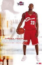 2003 NBA CLEVELAND CAVALIERS LeBRON JAMES THE CHOSEN ONE ROOKIE POSTER NEW 22X34