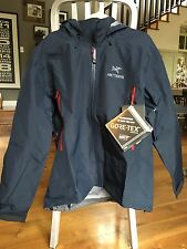 BRAND NEW WITH TAGS MEN'S ARC'TERYX BETA AR JACKET / COLOR - ADMIRAL / SIZE - XL