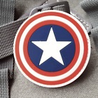 Captain America THE AVENGERS Movie S.H.I.E.L.D logo PVC 3D Rubber Velcro PATCH