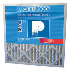 PURAFILTER 2000 4 PACK 14X20X1 MERV 8 Pleated Furnace Air Filter Pollen Allergen