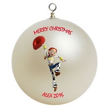 Personalized Custom Toy Story Jessie Christmas Ornament Gift Add Childs Name