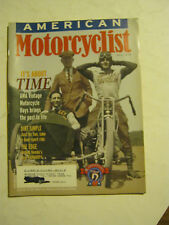 July 1999 American Motorcyclist Magazine  (BD-46)