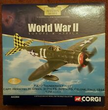 Corgi Aviation P-47D Thunderbolt '11' Capt Herschel H Green 317th FS AA33804
