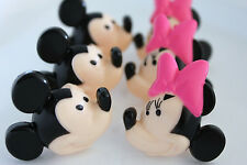 Cake Decorating Cupcake Toppers Rings - Mickey & Minnie Mouse