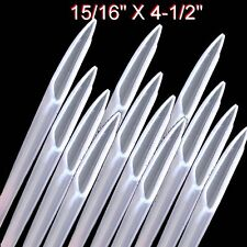 ♔♔♔ 12 Tube Cutlery Knife Sleeve Blade Guard Cover Prevent Injury Sterling Box